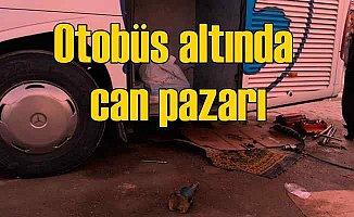 Kriko kaydı, 3 kişi otobüsün altında kaldı