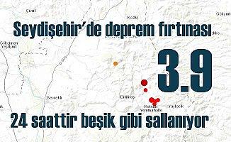Seydişehir'de deprem | Seydişehir 3.9 ile sallandı