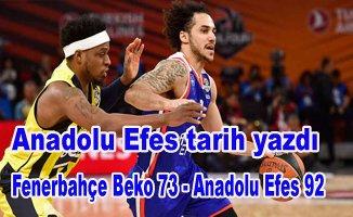 Anadolu Efes finalde
