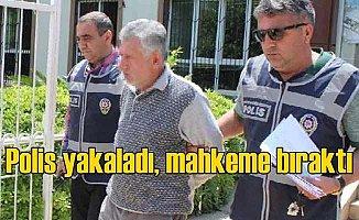Antalya sapığı serbest bırakılmış