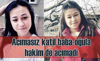 Ayşe Öztürk'ü öldüren baba oğula müebbet ceza