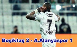 Beşiktaş lig yarışına devam dedi