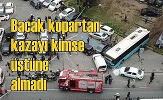 Beyazıt'ta otobüs faciasına sorumlu bulunamadı
