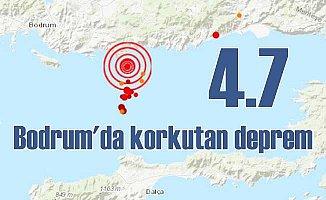 Bodrum'da deprem | Gökova Körfezi 4.7 ile sallandı