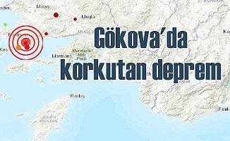 Ege'de deprem | Gökova Körfezi 4.3 ile sallandı