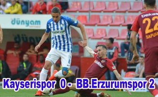 Erzurumspor Lig'e veda etti