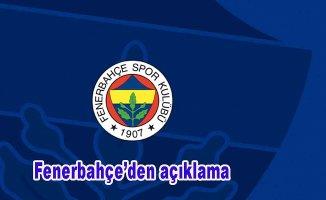 Fenerbahçe'den o haberlere yalanlama