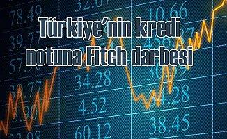 Fitch, Türkiye'nin kredi notunu negatife çevirdi