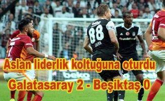 Galatasaray Beşiktaş'ı yenerek liderlik koltuğuna oturdu