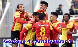 Göztepe Antalyaspor'u farklı yendi
