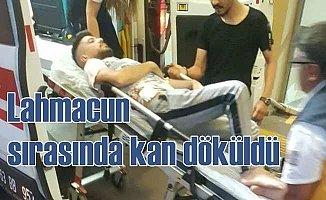 Lahmacun sırasında kavga çıktı, 5 kişi hastanelik oldu