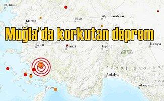 Muğla Yatağan'da deprem oldu 4.2