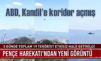 Pençe Harekâtı'nda 19 PKK'lı terörist öldürüldü