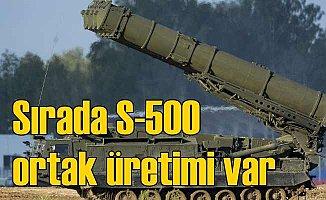 S-500 ortak üretimi mümkün mü? Moskova'dan cesaret veren açıklama