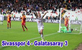 Sivasspor son maçta şampiyona geçit vermedi
