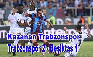 Trabzonspor, Beşiktaş'a geçit vermedi