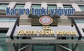 YSK kararına YSK temsilcileri sert tepki gösterdi