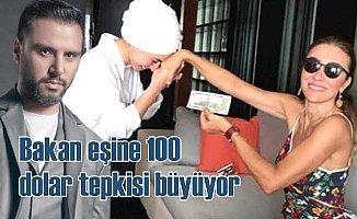 Bakanı eşinin 100 dolarlık bayram harçlığına tepkiler sürüyor