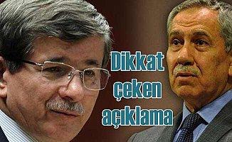 Bülent Arınç'tan Ahmet Davutoğlu yorumu