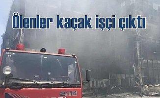 Çayırova'da fabrika yangını, Ölenler kaçak işçi çıktı