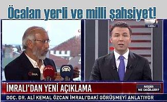 Doç. Dr. Ali Kemal Özcan | Öcalan yerli ve milli şahsiyet
