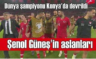Milli Takım Konya'da tarih yazdı | Türkiye 2 - Fransa 0