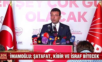 İmamoğlu zaferini İstanbul halkıyla kutluyor