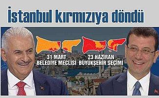 İstanbul seçimlerinde ilçelerde kim ne kadar oy aldı