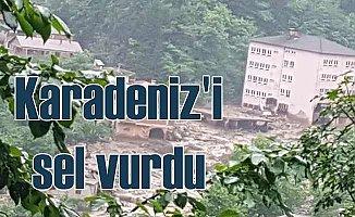 Karadeniz'de yağmur sele döndü, 6 ölü var