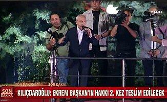 Kılıçdaroğlu; Türkiye demokrasiyle gurur duyuyor