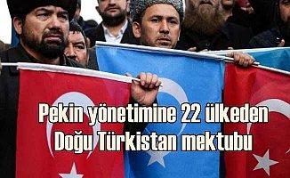 Doğu Türkistan için 22 ülkeden Çin yönetimine ortak mektup