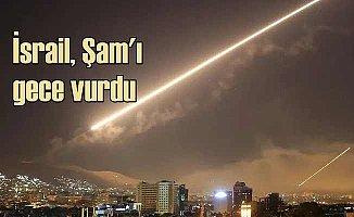 İsrail uçakları Şam'ı gece yarısı vurdu