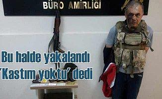 Kaleşli hucum yelekli soyguncudan 'Kastım yoktu' savunması