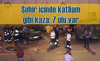 Konya'da şehir merkezinde katliam gibi kaza, 7 ölü var