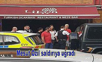 Mesut Özil'e bıçaklı soygun girişimi!