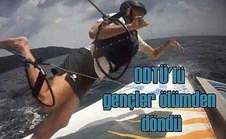 ODTÜ'lü gençler Marmara Denizi'nde ölümden döndü