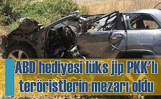 PKK'lı teröristler ABD hediyesi lüks aracın içinde vuruldu