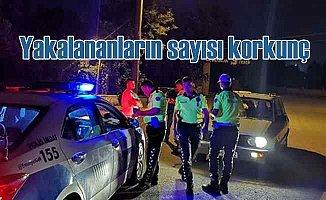 Polis sadece 3 günde bin 323 alkollü magandayı yakaladı