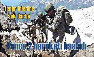 TSK, Irak'ta Pençe 2 harekatını başlattı