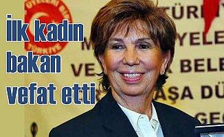Türkiye'nin ilk kadın bakanı Işılıy Saygın vefat etti