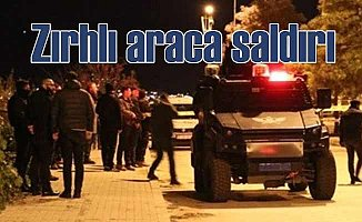 Zırhlı araca EYP'li saldırı