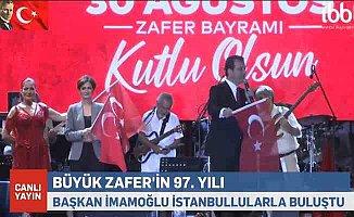30 Ağustos Zafer Bayramı için coşkulu kutlama