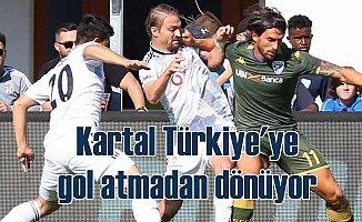 Beşiktaş hazırlık maçında İtalyan ekibe yenildi