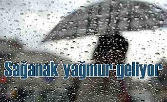 Bugün hava nasıl olacak | Sağanak yağmur geliyor