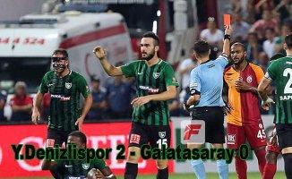 Galatasaray sezona mağlubiyetle başladı