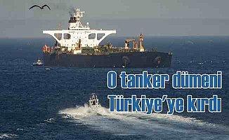 İran tankeri, Türkiye'ye dümen kırdı