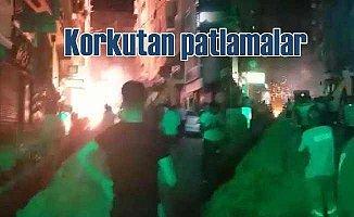 İstanbul Şirinevler'de şidetli patlamalar