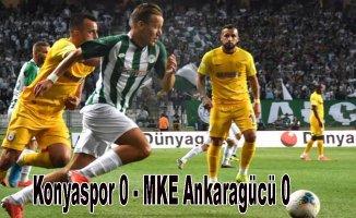 Konyaspor, Ankaragücü puanları paylaştı