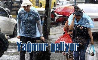 Meteoroloji'den 3 bölge için kuvvetli yağmur uyarısı