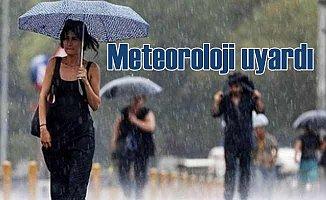 Meteoroloji yağmur uyarısı yaptı, 5 günlük hava tahmini